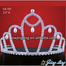 Дешевые оптовая конкурсе Корона Свадебные аксессуары тиара