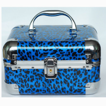 Leopard Jewelry Box with Aluminium Frame