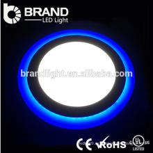 Конкурентоспособная цена Dimmable Двойной цвет светодиодное стекло Встраиваемые потолочные панели Вниз света