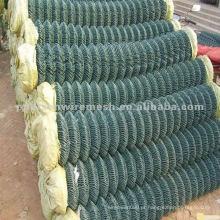 PVC Revestido Chain Link Fence 2.4mm