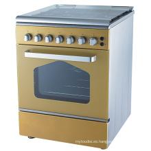 New Design 4 Burner - Horno de cocina a gas, de pie, libre