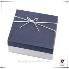 Custom-Design-Karton hochwertige geprägte Geschenkbox