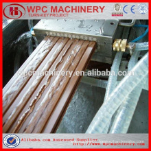 recycle plastic+ Wood(rice husk/straw/wood) plastic(PP/PE/PVC ) composite wpc production line wpc machine