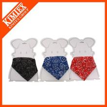 wholesale pet bandana,triangle bandana custom