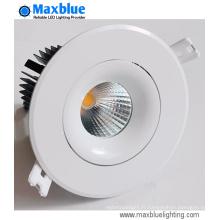 15W 4-Inch Round CREE COB LED Plafonnier (trous 90mm)