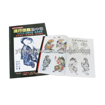 2012 Fashion Tattoo Manuscrip Tattoo Magazine Tattoo Book Supply