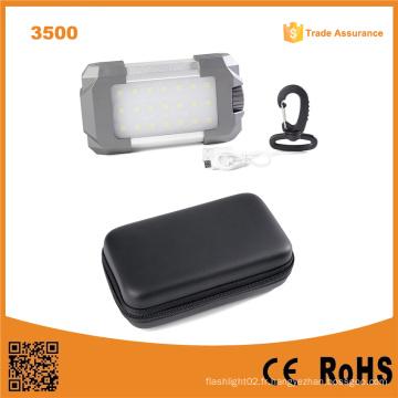 Lumifire 3500 torche LED à luminosité portable avec chargeur USB