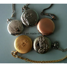 Custom Made Antique Quartz Pocket Watch Chain