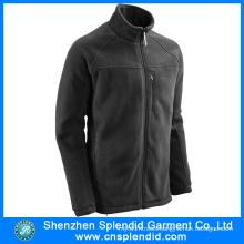 Wholesale Product Mens Black Polar Fleece Jacket