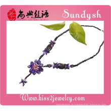 Jóias de flor de pedra artesanal Desigh de Classel
