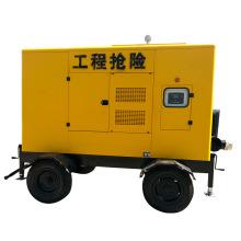 Geräuschlose Dieselmotor angetriebene Wasser Abwasserpumpe