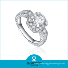 2016 Elegant Party 925 Sterling Silver Ring with CZ (R-0355)