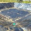 Característica ecológica Revestimiento de geomembrana HDPE suave de 1,5 mm