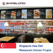 Singapore Asia Deli Restaurant Kitchen Project