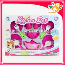 HOT children play set plastic kitchen set /cooking set/dinnerware set toys