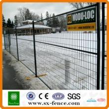Baustelle Zaun Barriere