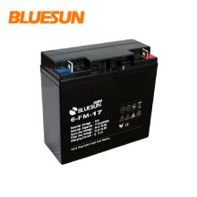 Batería de almacenamiento Ups 12v 17ah para sistema de energía solar