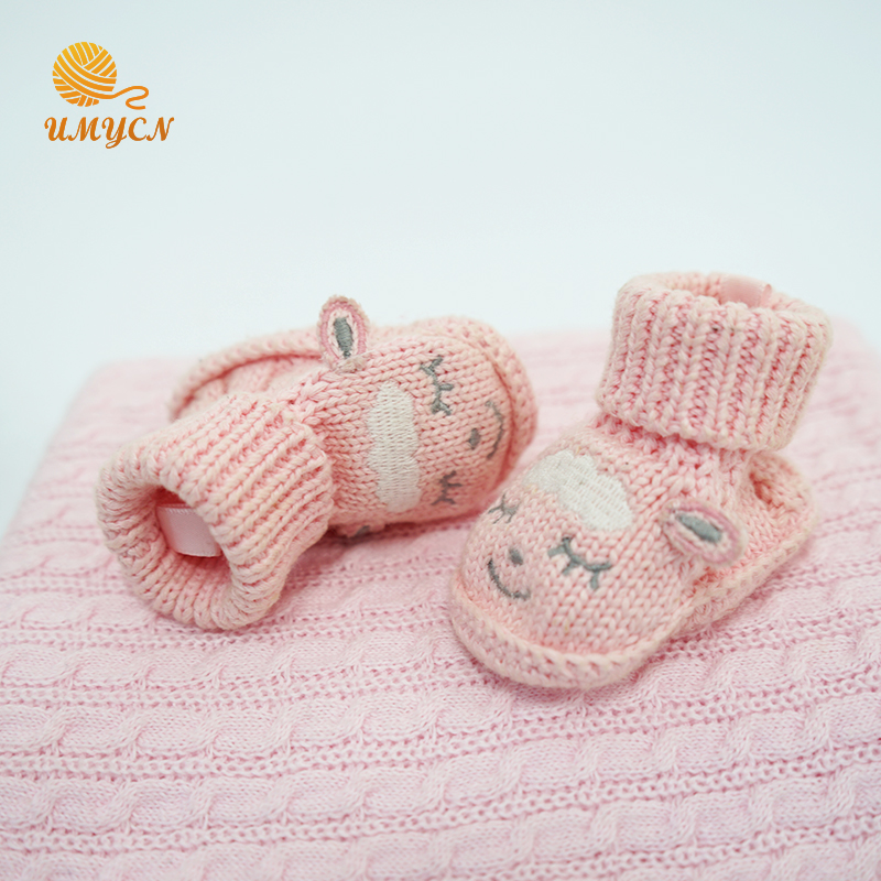 Crochet Baby Girls Shoes