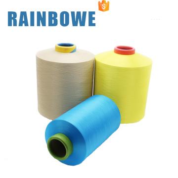 Wholesale spandex covered elastic yarn for weaving SCY 30150/48F single covered yarn