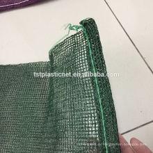 Зеленый желтый красный цвет мешки мешок сетки топ с кулиской (Хэбэй Tuosite пластиковая сетка)