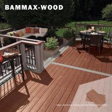 Waterproof 3D Deep Embossing Wood Grain Texture WPC Composite Wood Decking