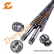 PVC Poam Board Twin Conical Screw and Barrel