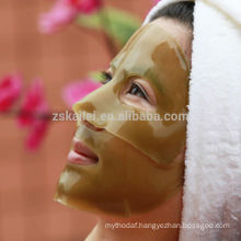 2014 new product green tea collagen crystal facial mask for skin care product
