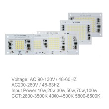 <10USD 2-Year Warranty 100W LED PCB with IC Driver Constant Current for Outdoor LED Light Waterproof