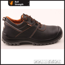 Industrial Leather Safety Shoes with Steel Toe and Steel Midsole (SN5267)
