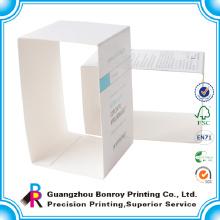 China empaquetado hecho a mano profesional reciclado de la manga del papel plegable