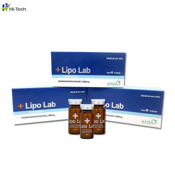 2020 Neues Produkt Lipolab Phosphatidylcholin PPC Lipolytische Lösung Lipolyse Injection Fat Melting
