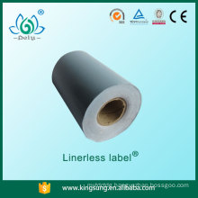 Shanghai Pely factory price good quality shelf price label linerless label