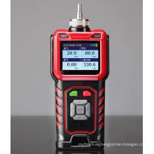 Analizador de gases con monitor de CO2 portátil