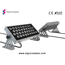 Projecteur carré imperméable IP65 Prolight 48W LED RGBW Wall Washer