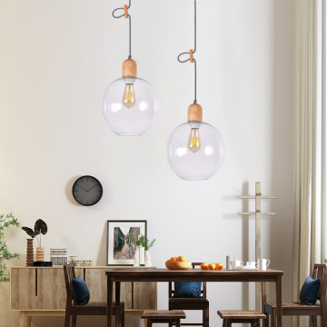 Lámparas colgantes individuales para comedor Art Droplight