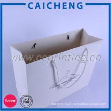 Hot selling logo printing recycle kraft paper bags for packaging