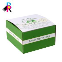 caja de presentación impresa corruagted plegable respetuoso del medio ambiente de encargo caliente vendedora