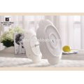 For Wedding 2 Tie White Ceramic Cake Stand