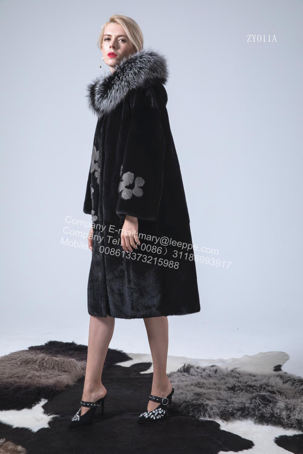 Reversible Lady Mink Overcoat