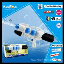 Hot sale kid toys space water gun with pump air gun
