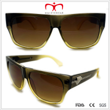 Plastic Sunglasses with Metal Decoration in Tne Temple (WSP508317)