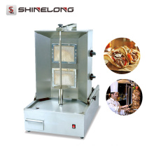 Hot Sale Commercial Salamander for kitchen Gas shawarma machine