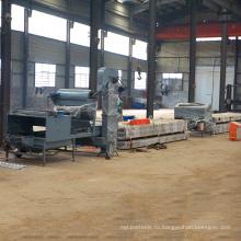 Каменный обломок покрыл клеем металлический стальной крен Толя формируя бывший изготовления камня покрытием металлочерепица производственная линия для продажи