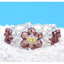 Kristall Perlen Armband, Perlen Kristall Armband