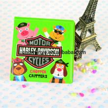 Plastic baby bath book/EVA bath book/pvc educational baby bath book toys