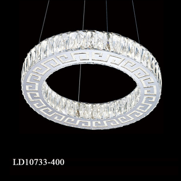 Pingente K9 Crystal Contemporary Chandelier
