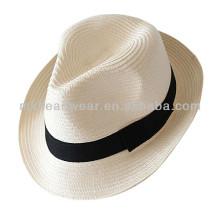 Sombrero de paja barato del papel de Panamá del verano al por mayor