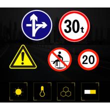 Bon prix signes d'avertissement de sécurité de construction d'avertissement