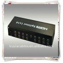 Разделитель HDMI 1x16 использует один источник HDMI, доступ к нескольким приемникам HDMI