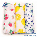 Extra Soft Bamboo Muslin Swaddle Baby Blankets with 70% Bamboo 30% Cotton